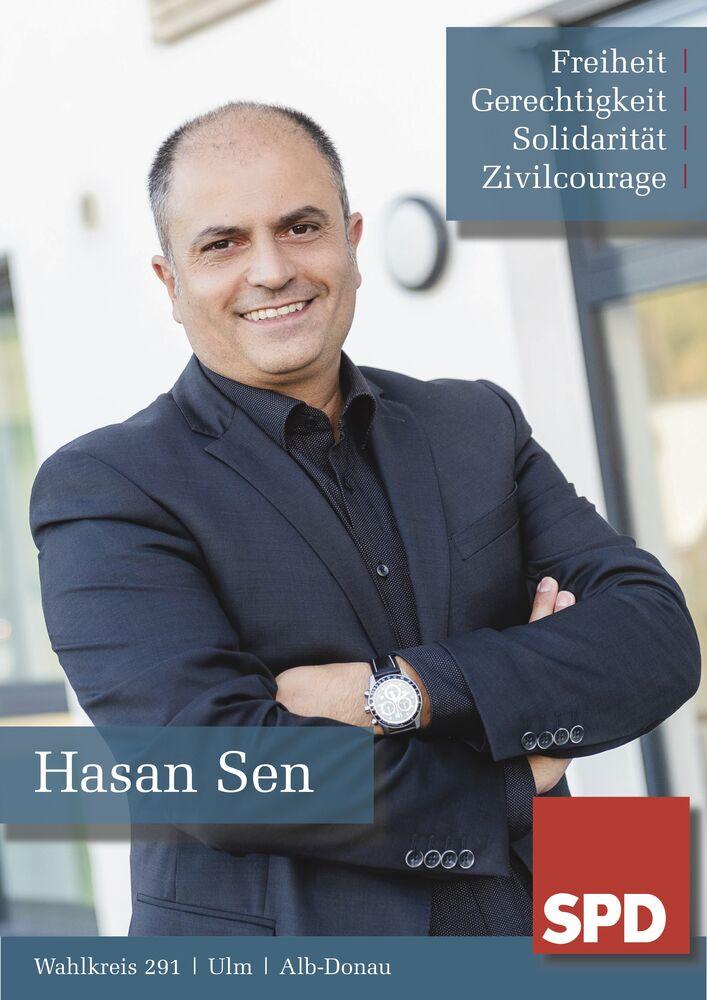 Bewerbung Hasan Sen