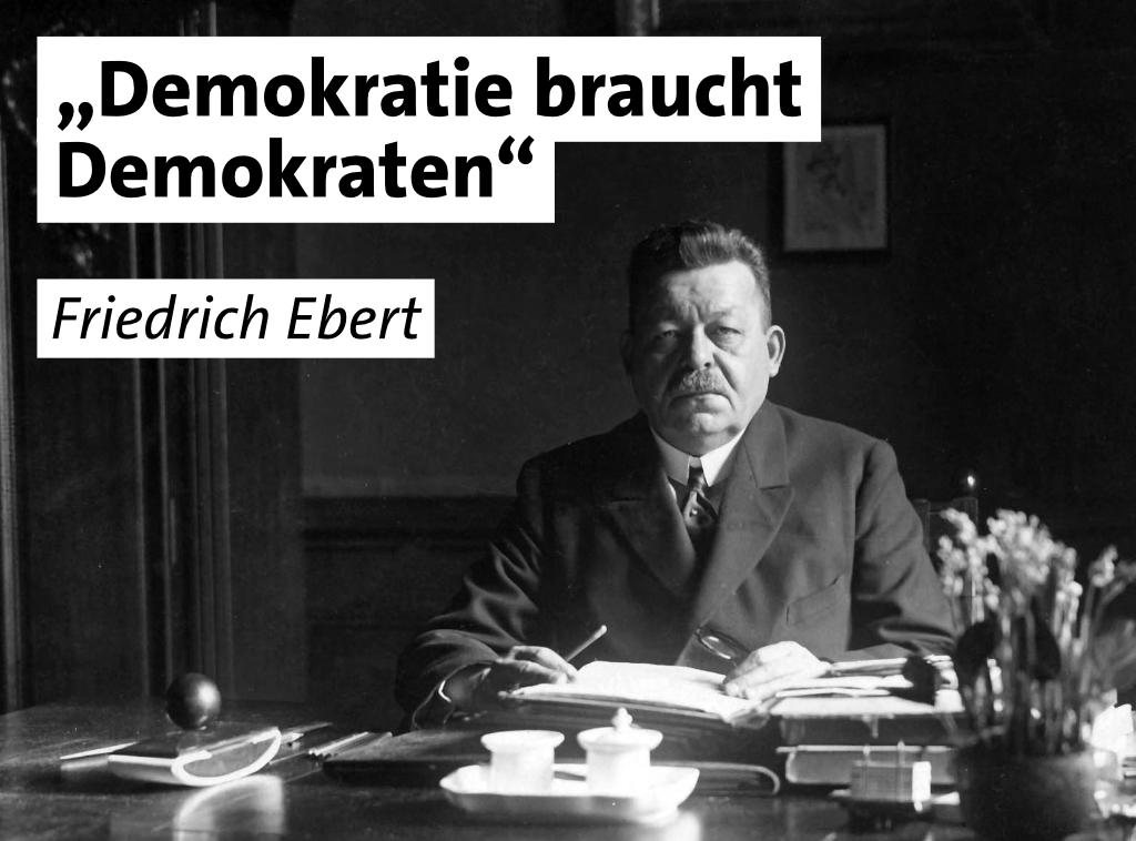 Demokratie braucht Demoktaten
